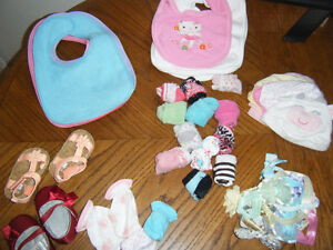 Asst baby girl items