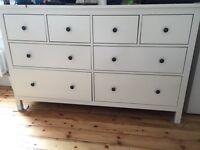 8 drawer IKEA Hemnes RRP 180