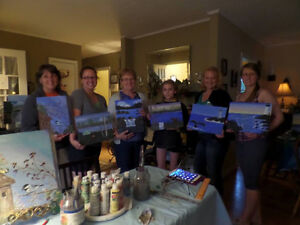 Wine and Painting Fun Parties! St. John's Newfoundland image 10