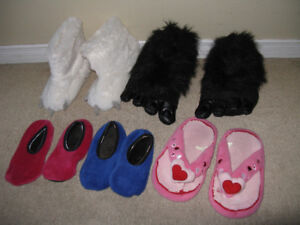 Kids Slippers lot of 5 size 13-2