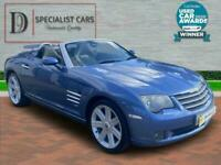 2004 54 CHRYSLER CROSSFIRE 3.2 V6 2D 215 BHP AUTOMATIC ROADSTER HEATED LEATHER