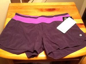 Lululemon Turbo Run Shorts- NEW Size 6