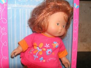 "12"" Corolle Poupette LULU In Box reddish hair West Island Greater Montréal image 3"