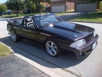 Mustang convertible 1989