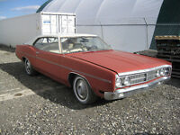1970 Ford Galaxie 2 dr Sports Roof project car