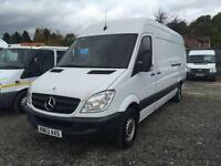 2013 63 MERCEDES-BENZ SPRINTER 2.1 313 CDI LWB LONG WHEEL BASE129 BHP PANEL VAN