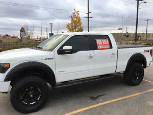 LOADED & Lifted 2013 Ford F-150 SuperCrew FX4 BEAUTIFUL TRUCK