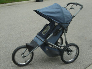 "MUST GO TODAY 16"" AIR WHEELS INSTEP JOGGER STROLLER $75.00 FIRM!"