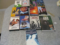 9 films VHS + 4 documentaires