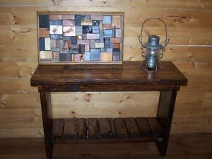 Rustic Side/Entrance Table