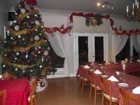 Party Noël, événement champêtre, salle de reception, réunion