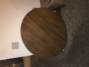 """40"""" dining table with 2 leaves"""