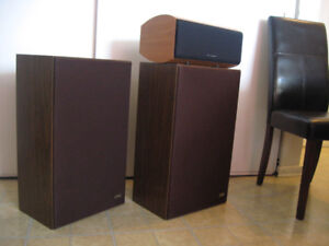 AVID 102a-Speakers & Wharfedale Diamond 9.Cs Centre Speaker