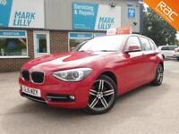 2015 BMW 118 2.0TD ( 143bhp ) ( s/s ) SPORT HATCH MANUAL DIESEL £30 ROAD TAX