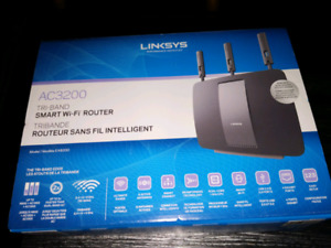 Linksys ac3200 tri band smart wifi router for sale