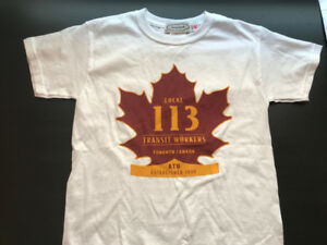Local 113 Transit Workers Union  T Shirt - Youth -small