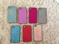 7 spakrly colored iphone 4/4s cases