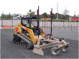Level Best Grader Attachment for Skid Steers and Tractors