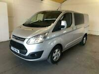 2018 Ford Transit Custom 290 130PS LIMITED DCIV CREW VAN TAILGATE