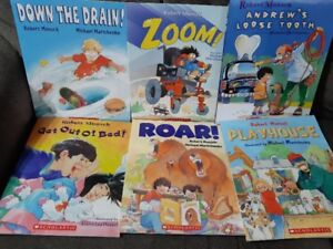 Books - Robert Munsch - Set 1 (6)