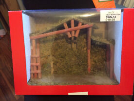 Nativity/Stable building only - no figures