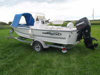 2006 Triumph 170CC center console fishing boat
