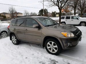 2009 Toyota RAV4 limited V4 2.5 certified excellent condition