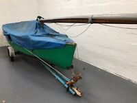 GP14 Boat - Wooden Sailing Dinghy - Sail number 4569