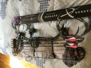 Adult Bear Finesse compound bow package