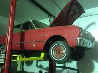 1962 Ford Falcon Futura 4 door project.