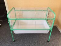 Liberta 'The Warren' Indoor Rabbit Cage & Stand on Wheels