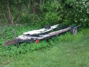 17 foot ,single axle cargo trailer