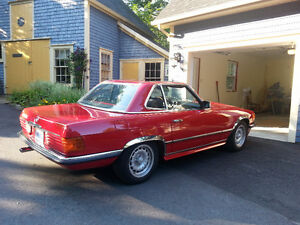 Perfect condition - 1981 Mercedes 280 s-L roadster