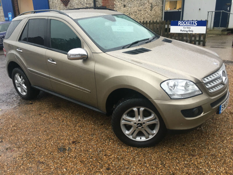 2008 '08' Mercedes ML280 3.0 CDI 7G-Tronic SE. 4x4. Four Wheel Drive. Px Swap