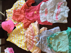 GUC 6-12 Baby Girl Summer Lot