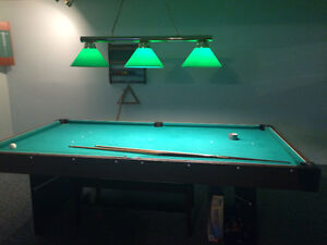 Pool Table with light and accesories Peterborough Peterborough Area image 1