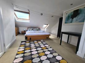 Fantastic loft bedroom with ensuite