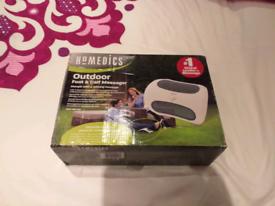 New Homedics outdoor foot & calf vibration massager