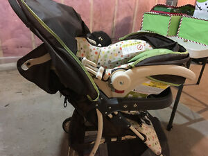 Cosco Baby buggy with baby seat