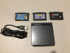 Gameboy Advance Clean almost mint condition w/ 2 games + more