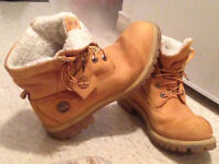 Selling barely used Timberland Roll top boots/Shoes for $130