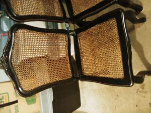 4 chairs need TLC