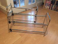Adjustable shoe rack x2