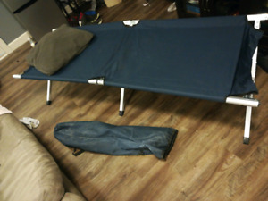 Camping bed!!