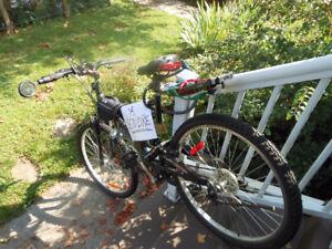 Vélo de montagne comme neuf incluant accessoires