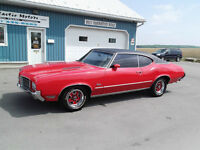 1971 OLDSMOBILE CUTLASS S,455 ROCKET,AUTOMATIC
