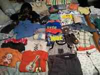 Boys size 3-6 months clothing lot