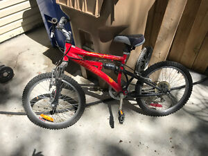 Full Suspension Kid's mountain bike