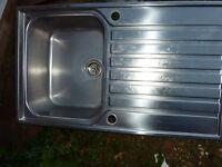 Franke Ascona Single Bowl Stainless Single Drainer Sink 860 x 510mm
