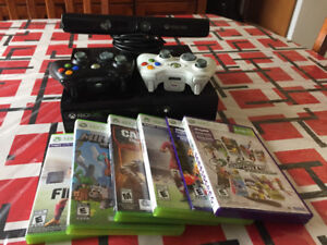 XBOX 360 Bundles with KINECT & 6 Games